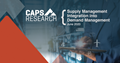 Supply Management Integration into Demand Management research by CAPS Research